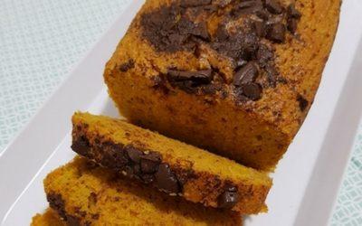 Receita de bolo de cenoura Low Carb