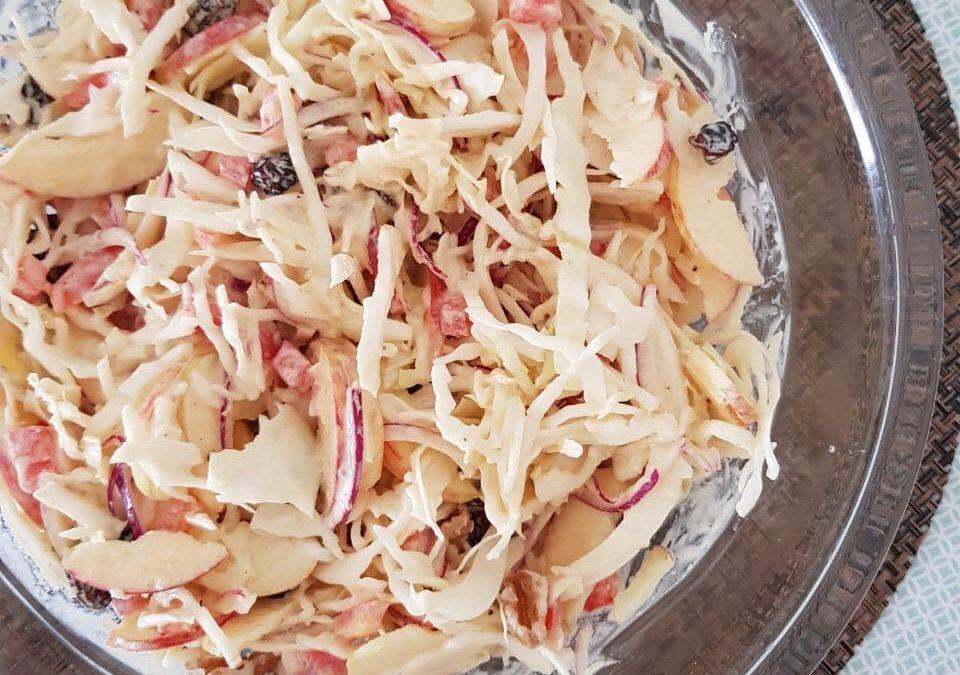 Salada Crocante de Repolho