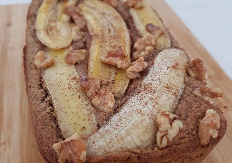 Bolo de banana sem açúcar