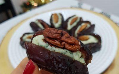 Receita para o Natal: Tâmaras recheadas com gorgonzola